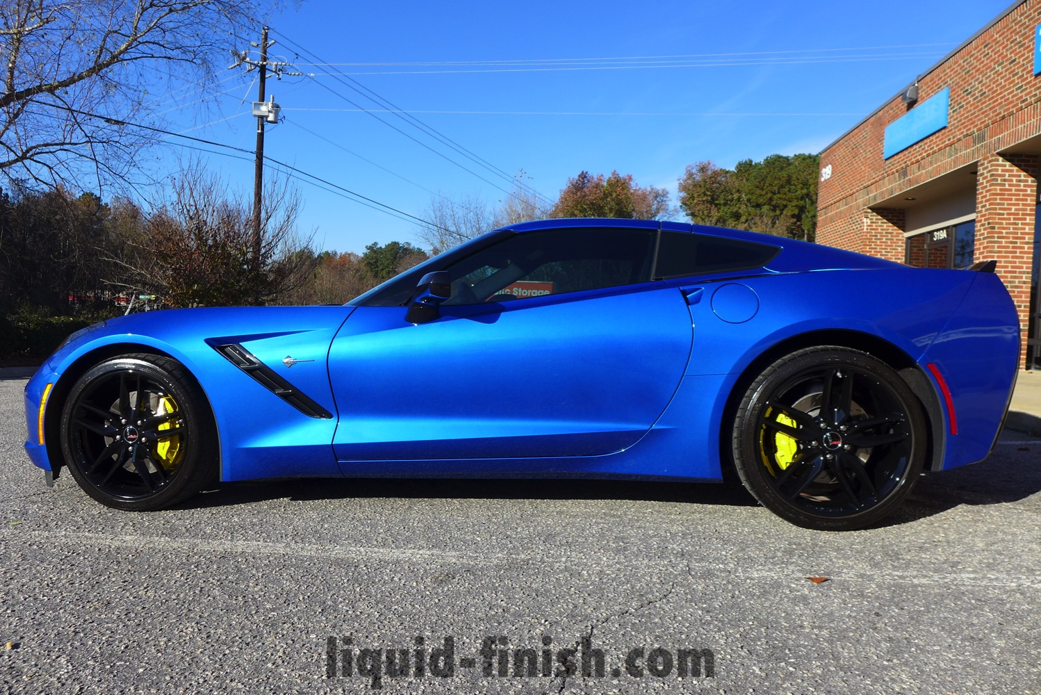 2015 Stingray Laguna Blue Paint Protection Film Amp Gloss Coat