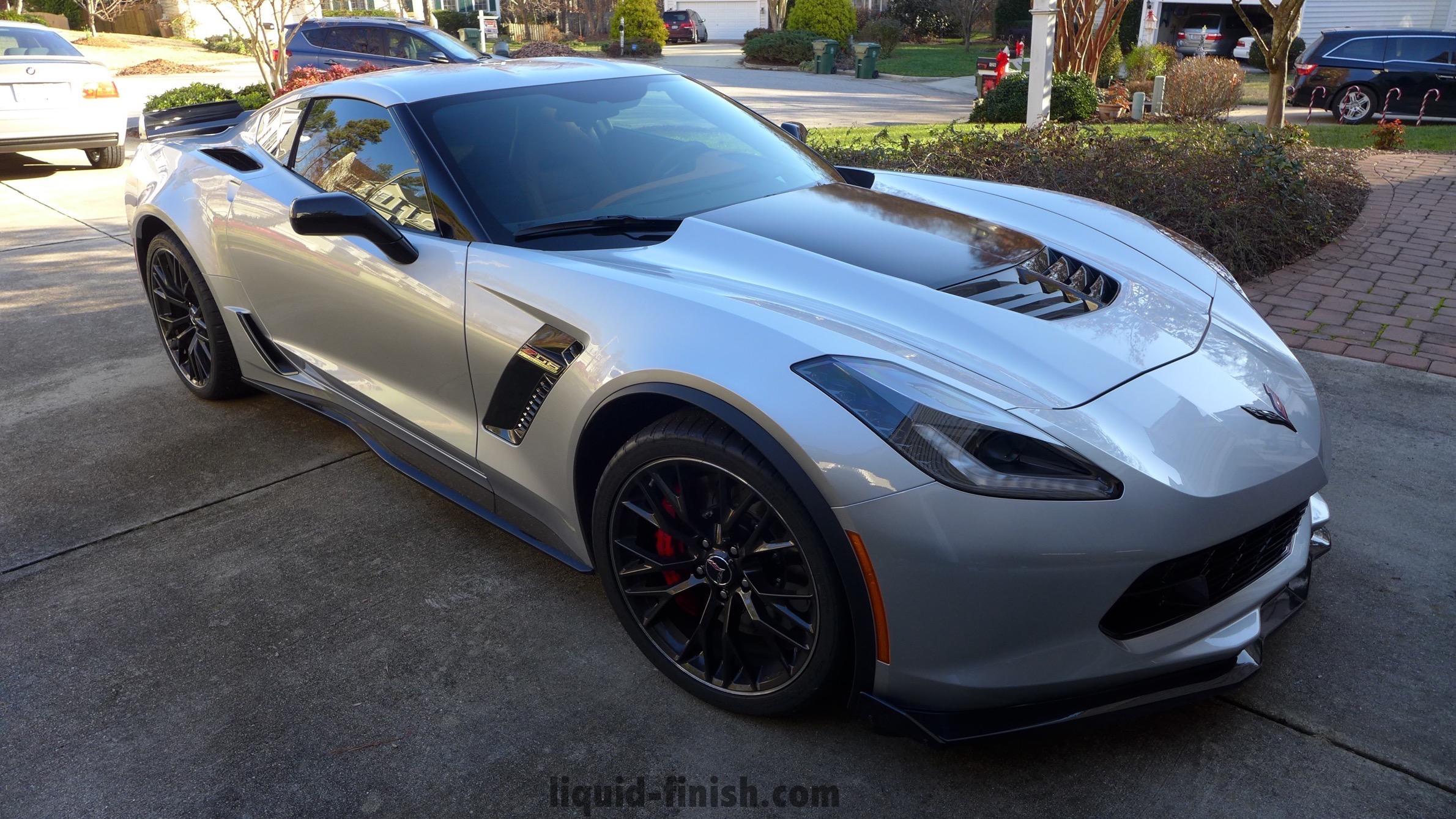 2015 Corvette Z06 Blade Silver Gloss Coat