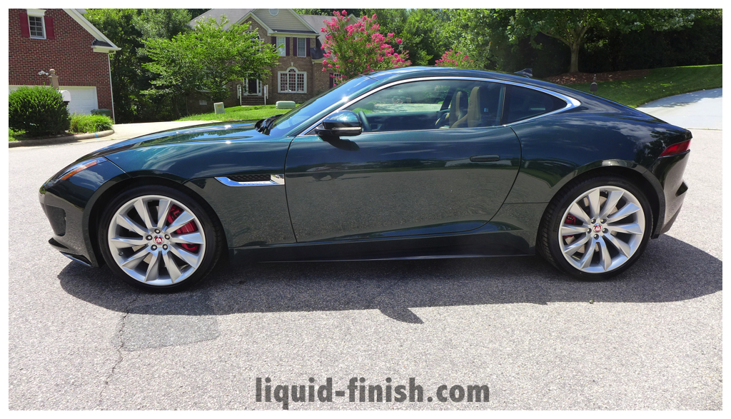 Car Window Cleaner >> New Car Treatment: 2014 Jaguar F Type R British Racing Green
