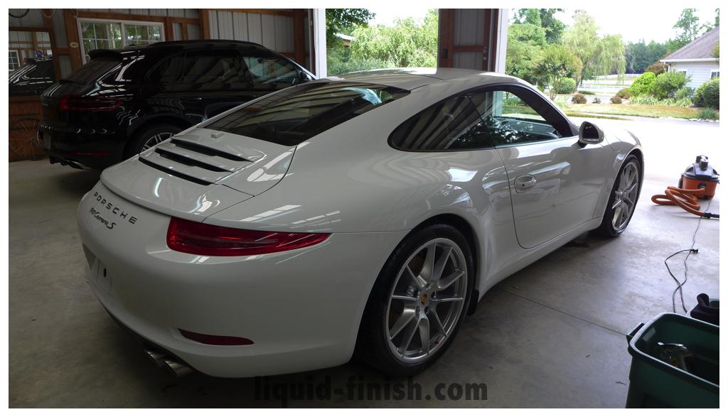 Ultimate Vehicle Protection 2014 Porsche 911 Carrera S