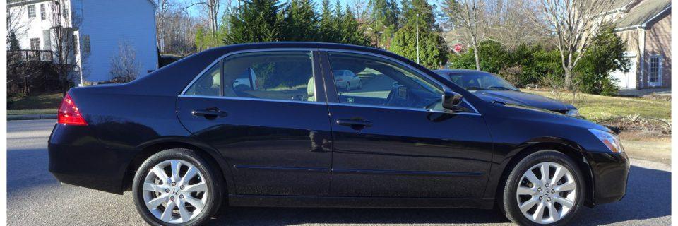 Paint Enhancement: Honda Accord Nighthawk Black
