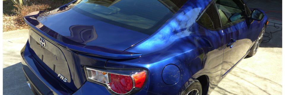 Opticoat Scion FR-S Raleigh Treatment – Ultramarine Monogram
