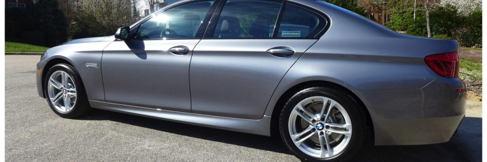 New Car Opticoat: 2014 BMW 528 Space Grey Ultimate Protection