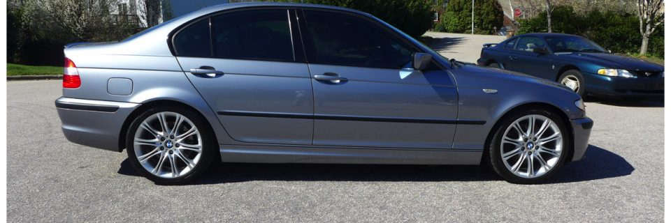 BMW ZHP Silver with Wheel Iron Deposit Removal