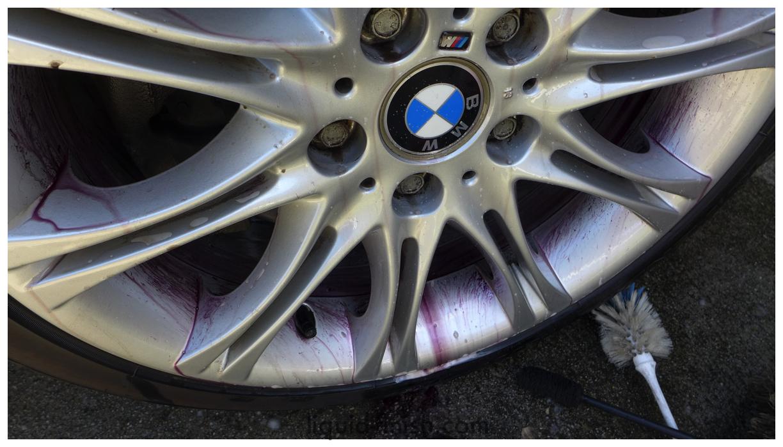 bmw detailing wheel