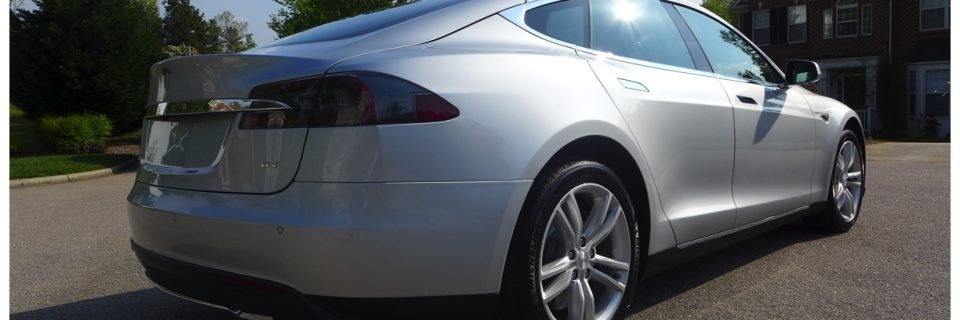 New Car Opticoat: Silver TESLA MODEL S 85
