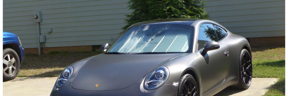 Level 1 Renew BMW 335 Black + Wash and Wax Porsche 991 911 Suntek Matte Paint Protection