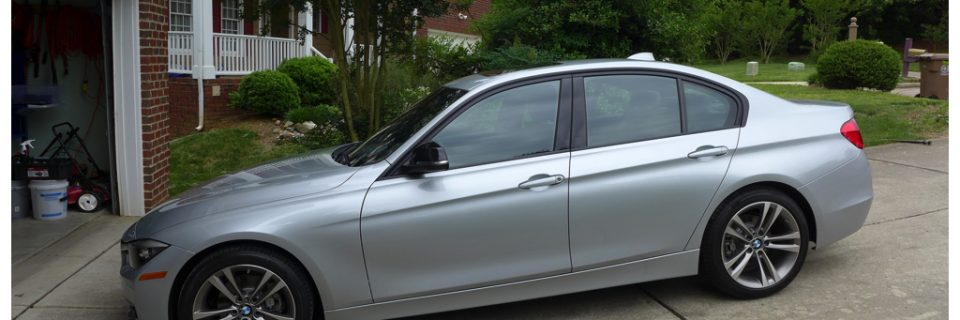 New Car Detail: BMW F30 328i Silver Metallic