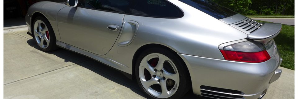 Level 1 Renewal Detail: 2001 Porsche 996 Turbo Silver