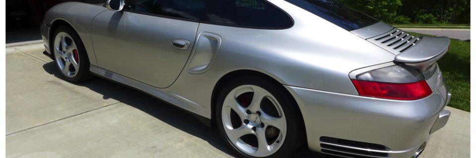Level 1 Renewal Detail: 2001 Porsche 996 Turbo Silver