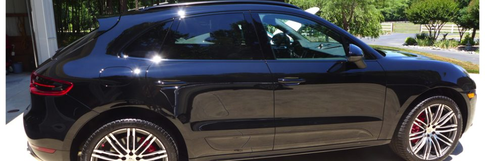 Ultimate Vehicle Protection: 2015 Porsche Macan Turbo Black