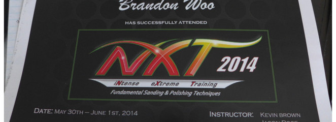 Meguiar's NXTi 2014: iNtense eXtreme Training Institute NXT Class