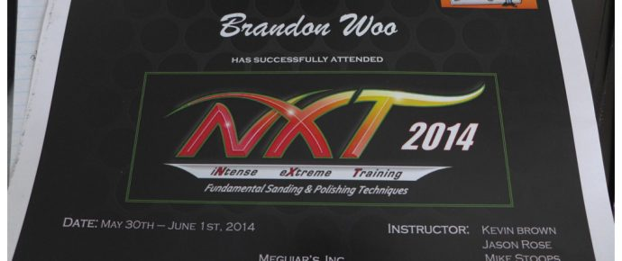 Meguiar's NXTi 2014: iNtense eXtreme Training Institute NXT Class