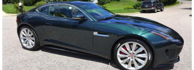 New Car Treatment: 2014 Jaguar F Type R British Racing Green