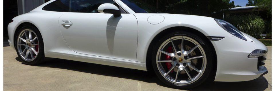 ULTIMATE VEHICLE PROTECTION: 2014 PORSCHE 911 Carrera S White
