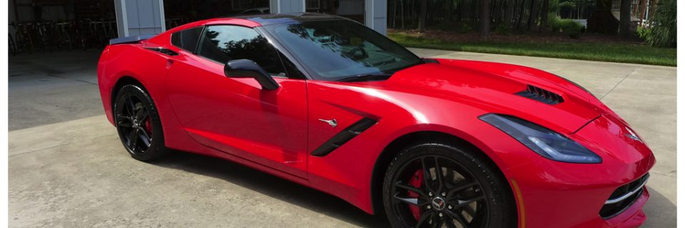 Ultimate Vehicle Protection: Corvette C7 Torch Red