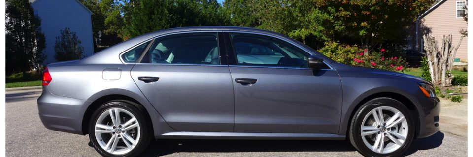 New Car Coating: 2014 Passat Urano Grey