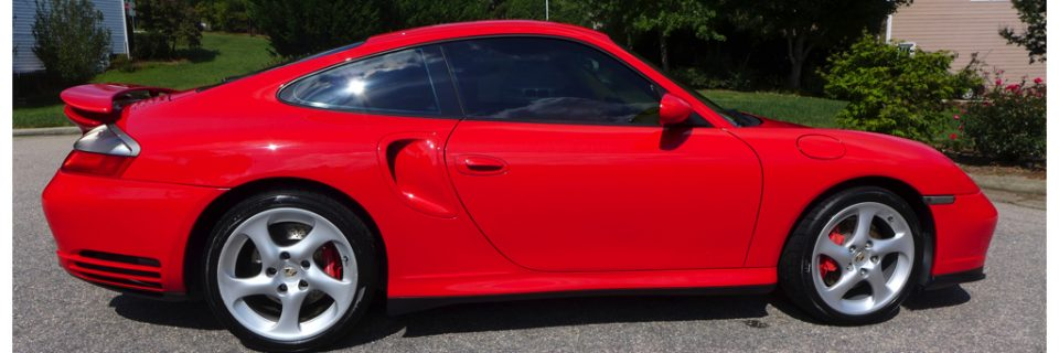 Wash & Wax Show Preparation: Porsche Turbo Red 996