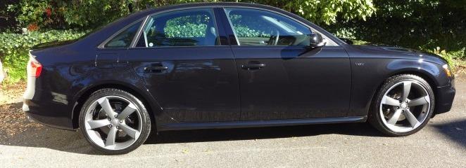 2014 Audi S4 Phantom Pearl Black Renewal Detail