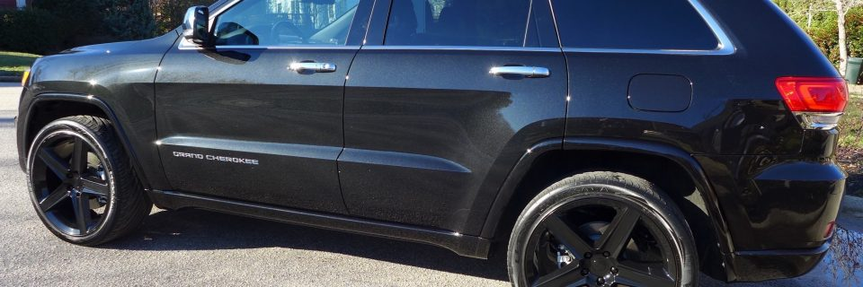2015 Jeep Grand Cherokee Gloss Coat