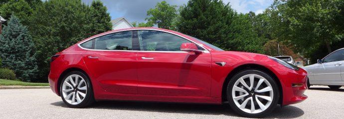 Tesla Model 3 – Opti Coat Pro Plus New Car Treatment