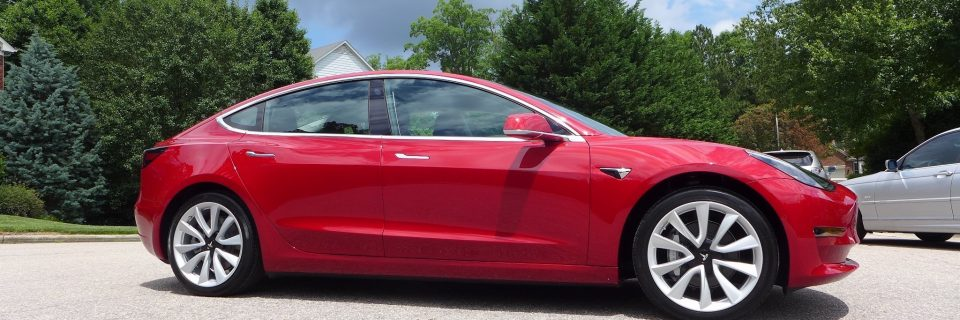 Tesla Model 3 – Opti Coat Pro Plus New Car Treatment
