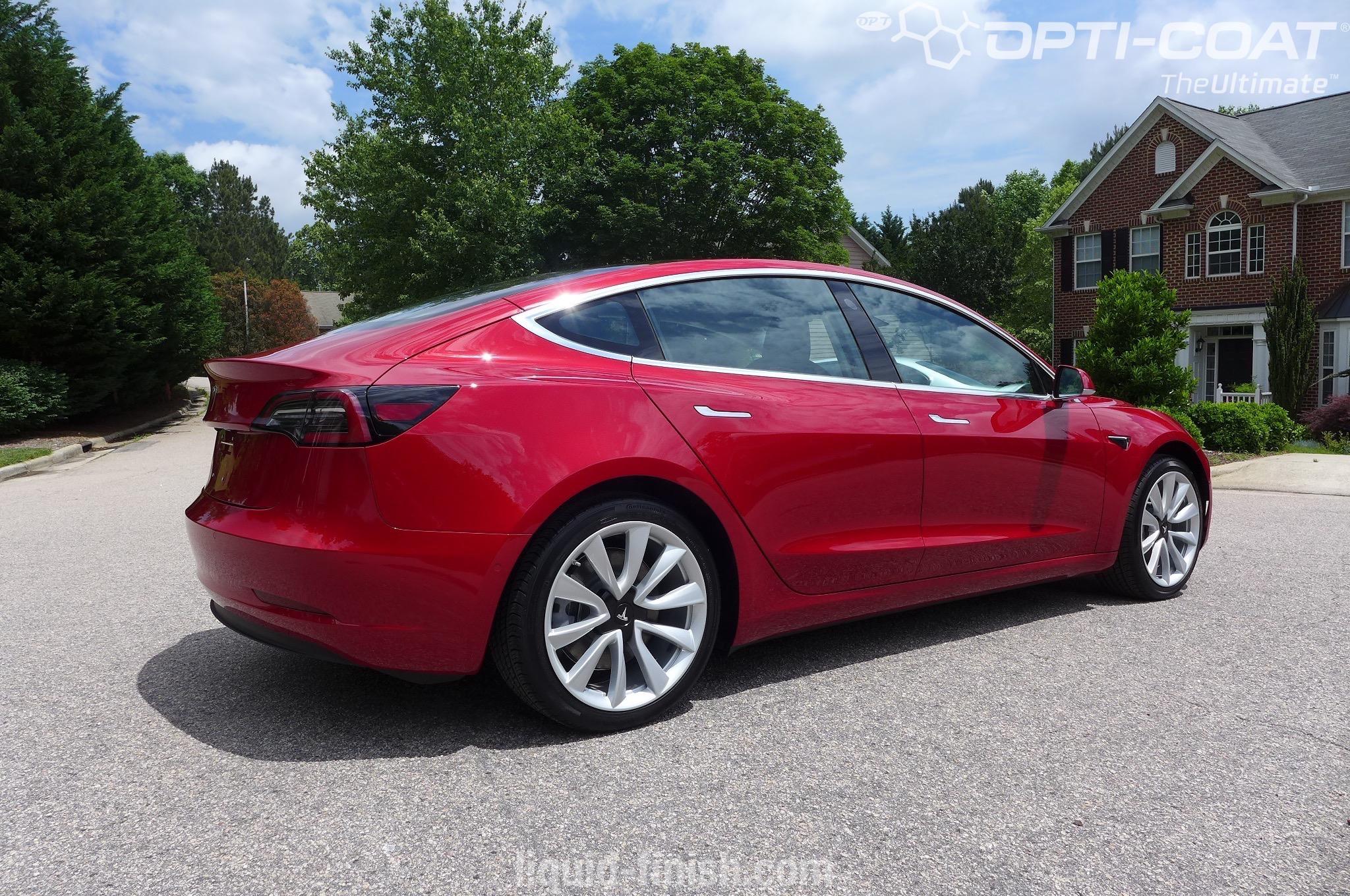 Tesla Model 3 Opti Coat Pro Plus Paint Correction