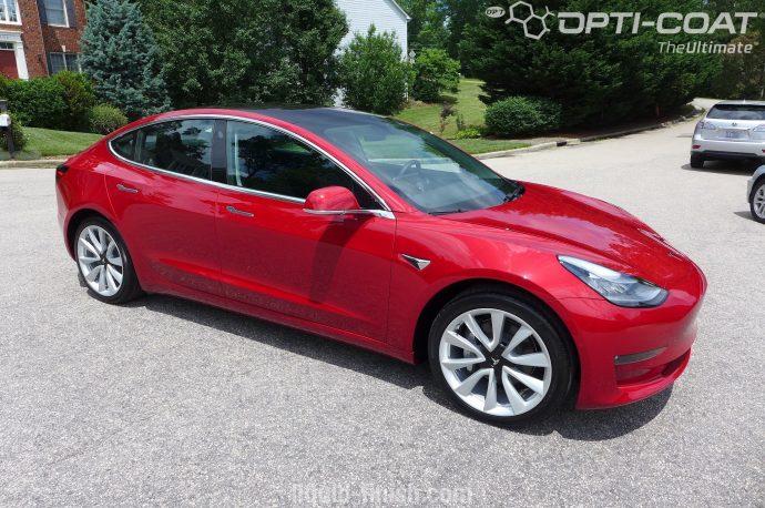Tesla Motors - Ceramic Coating & Paint Correction -