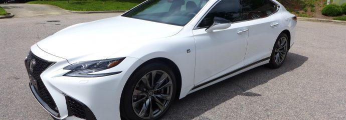 July Update: Lexus LS500 F Sport Opti Coat Pro