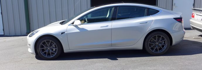 October Update: Metallic Silver Model 3s & Beautiful Blue Camaro SS Opti Coat Pro