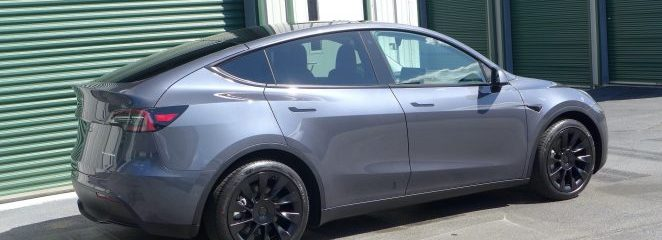 April Update: Tesla Model Y with Ultimate Vehicle Protection!