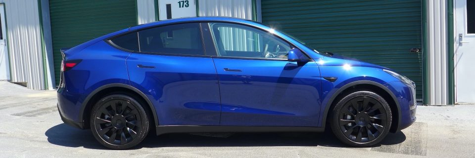 May Update: Tesla Model Y Deep Blue Opti Coat Pro Plus