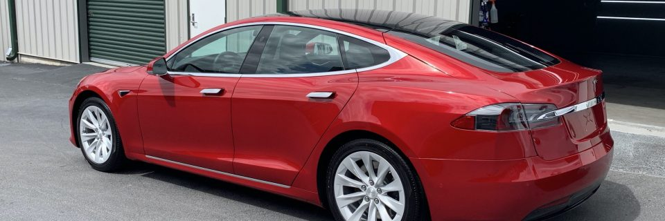 Fall Update: Tesla Model S, C300 Blue Opti Coat Pro Plus & S63 AMG Alubeam Paint