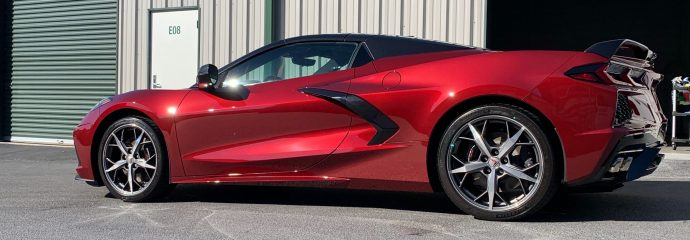 Fall Update: Corvette C8 Z51 Convertible Red & BMW M340i Performance Opt Coat Pro Plus