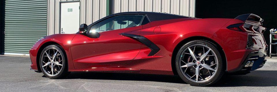 Fall Update: Corvette C8 Z51 Convertible Red & BMW M340i Performance Opt Coat Pro Plus