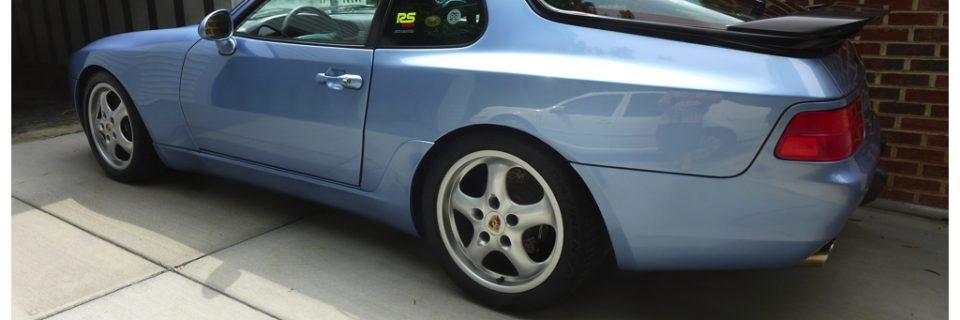 Level 1 Renew Detail: Rare Porsche 968 Blue Horizon